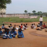 Kinder bei der Nachhilfe