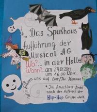 "Plakat ""Das Spukhaus"""